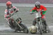Футбол на мотоциклах